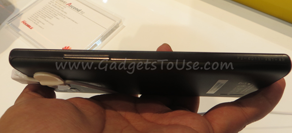 Huawie Ascend P2 Hands-On Images and Video [MWC]