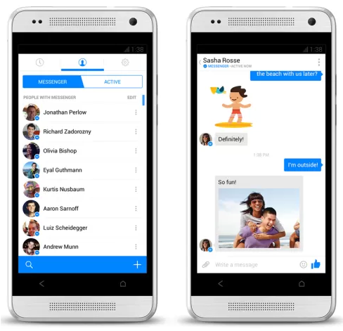 Android facebook contact pictures not updating