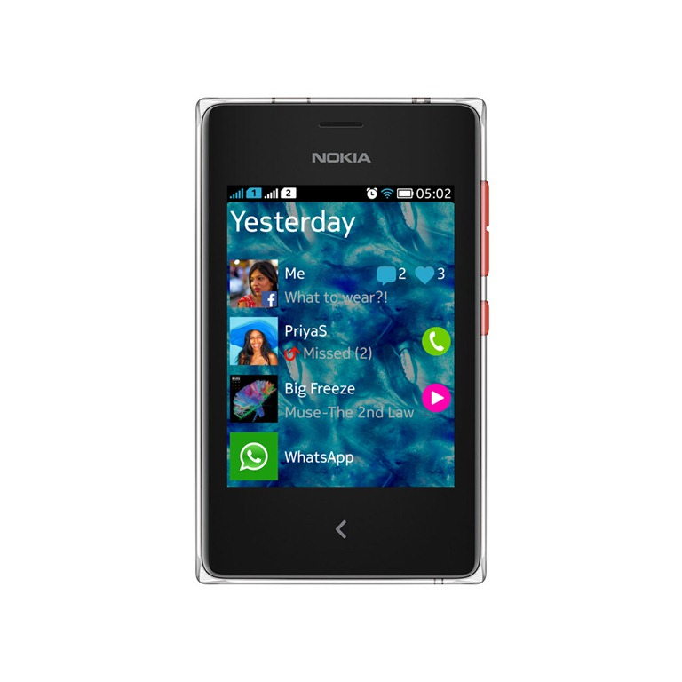 nokia asha 502 with dual sim now on sale for rs 5 739