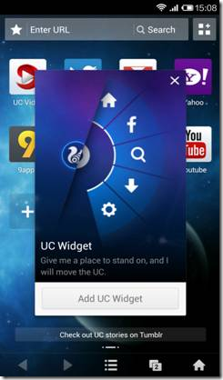 UC Browser for Android New Update brings Faster download