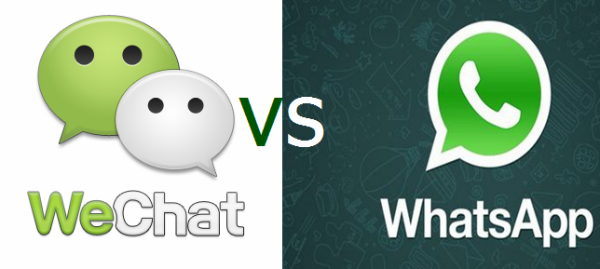 wechat vs whatsapp There are dozens of apps flooding the mobile world offering instant messaging services while whatsapp has gained world dominance when it comes popularity, this will come as a surprise to.