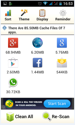 1 cache cleaner