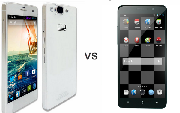 Micromax Canvas Knight VS iBerry Auxus Nuclea X
