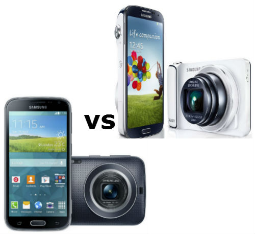 samsung galaxy s4 zoom vs galaxy k zoom