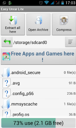 Top 5 Rar Zip File Open And Extract Apps On Android Gadgets To Use