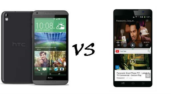 htc desire 816 vs panasonic p81