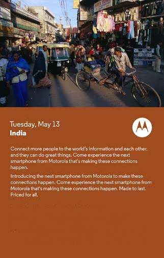 Motorola Sends Invites for May 13 Launch Event; Is Moto E ...