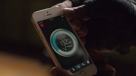iphone 5s heart rate
