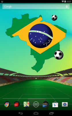 Brazil World Cup LWP Wallpaper