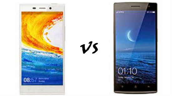 Gionee Elife E7 VS Oppo Find 7a