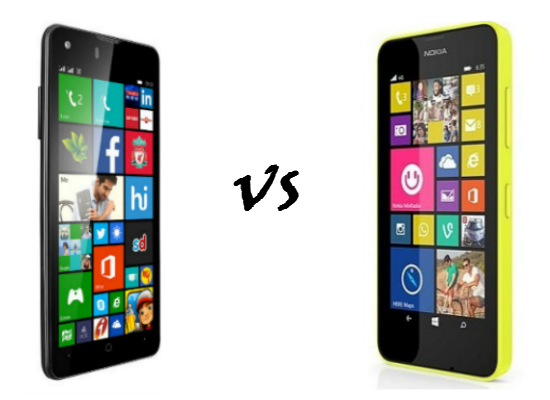 xolo win q900s vs Nokia lumia 630