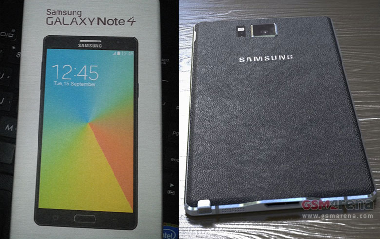 Samsung Galaxy Note 4 Images surface ahead of Official