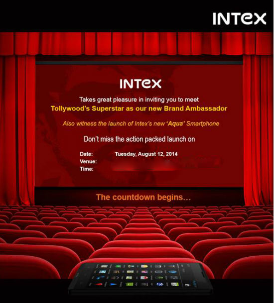 intex aqua phone launch