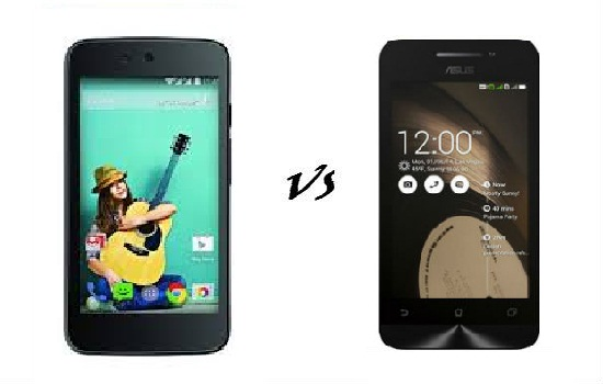 android one vs asus zenfone 4.5