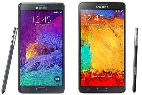 note 4 vs note