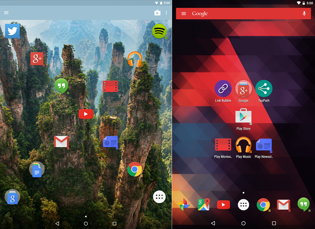 Top 5 Best Android Lollipop Launcher Apps - Gadgets To Use