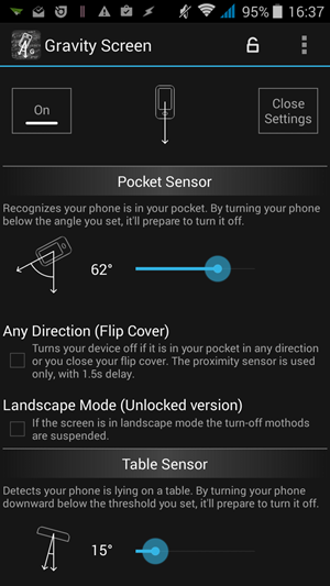 Gravity Screen - Best tips to increase power button life