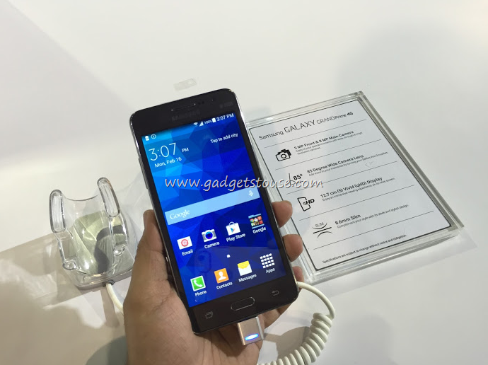 Samsung Galaxy Grand Prime 4G Hands on, Photo Gallery and