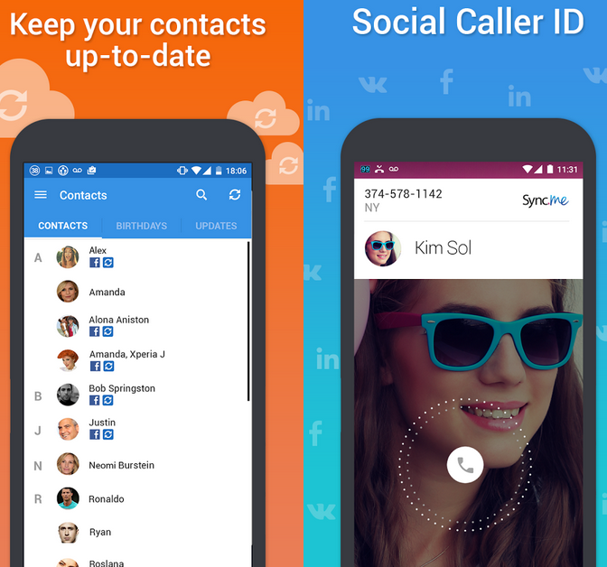 best android contacts app