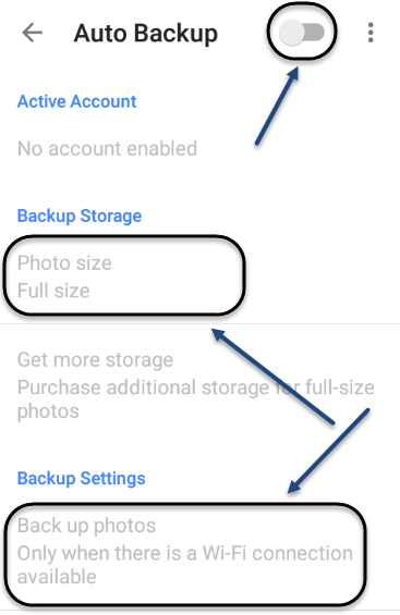 how to set google drive to backup automatically
