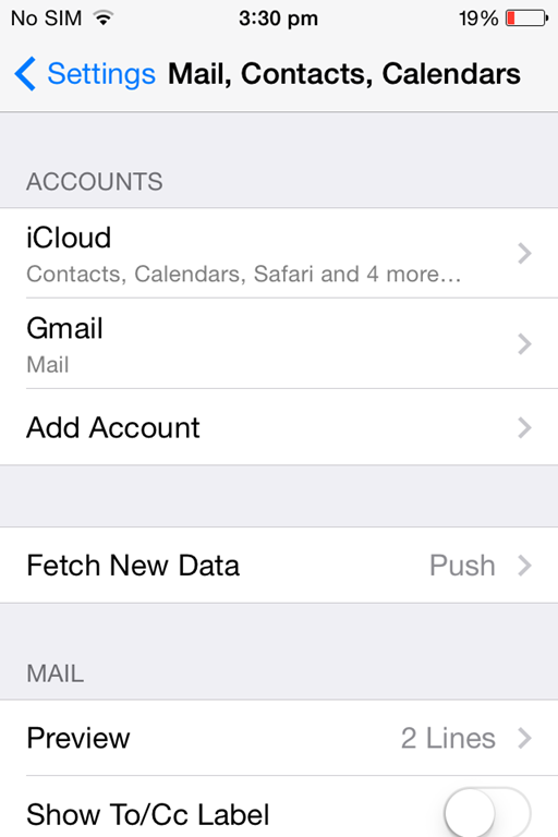 how to make another gmail account on iphone