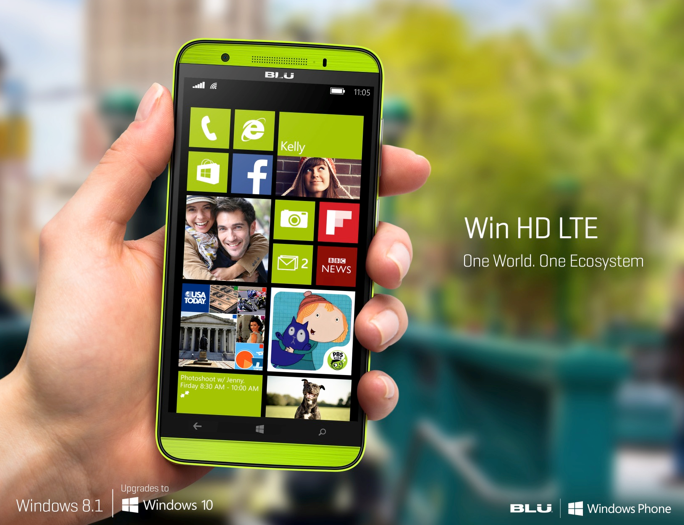 blu lte hd windows 10