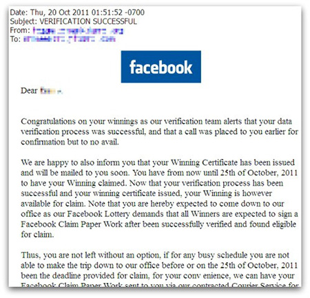 5 Tips To Catch Facebook Scam Before It Infects Your Profile