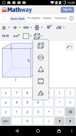 5 Best Android Apps To Solve X and Y Equations, Matrix and ... Mathway Differentiate on