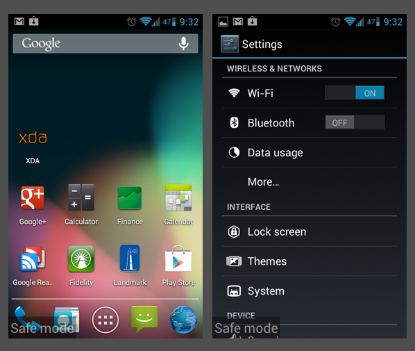What Is Android Safe Mode Recovery Mode And User Mode