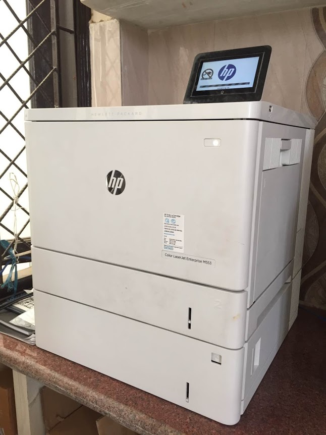 hp color laserjet enterprise m553 printer review features overview