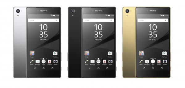Xperia Z5 Colour Range