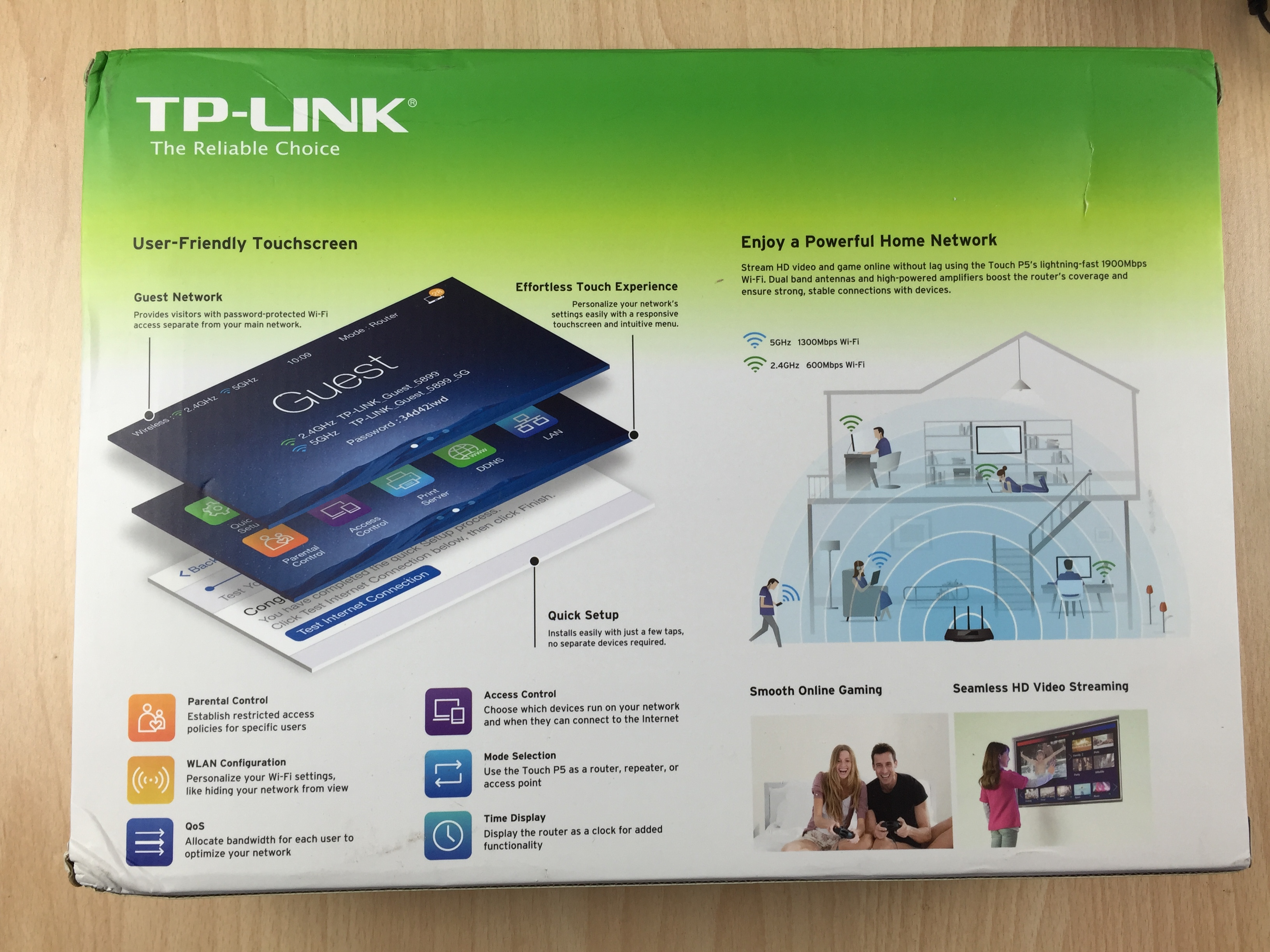 tp link touch p5 unboxing features and setup guide set up