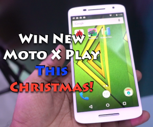 Moto X Play Giveaway