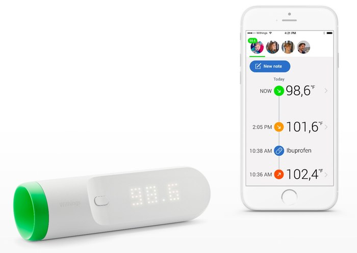 Withings Thermo With Wifi And Bluetooth Launched At Ces 2016