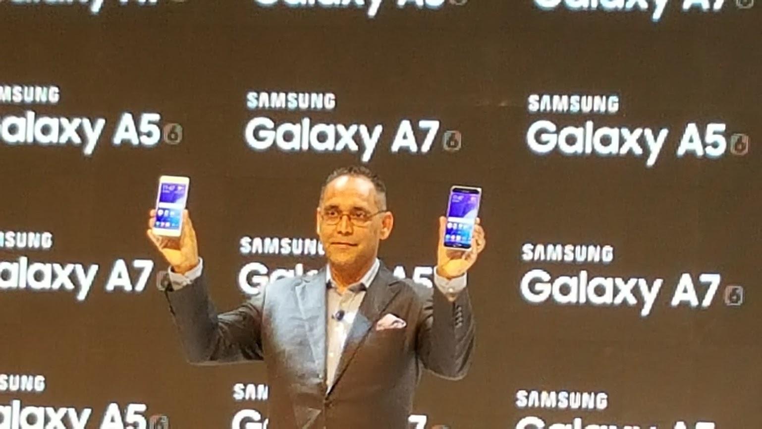 Samsung Galaxy A5 and Galaxy A7