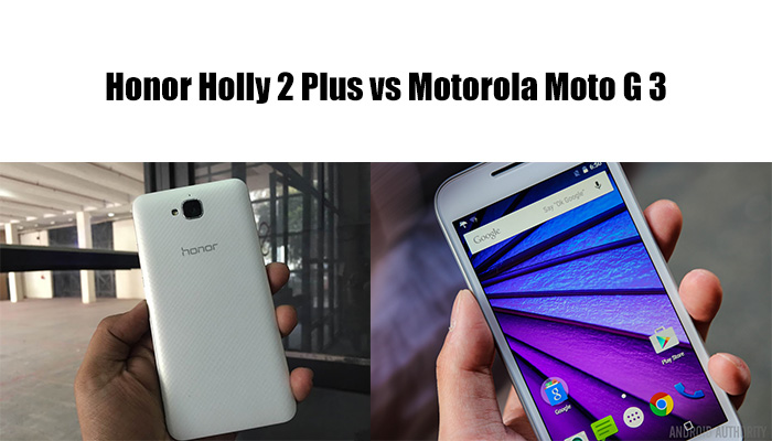 honor holly 2 plus moto g3