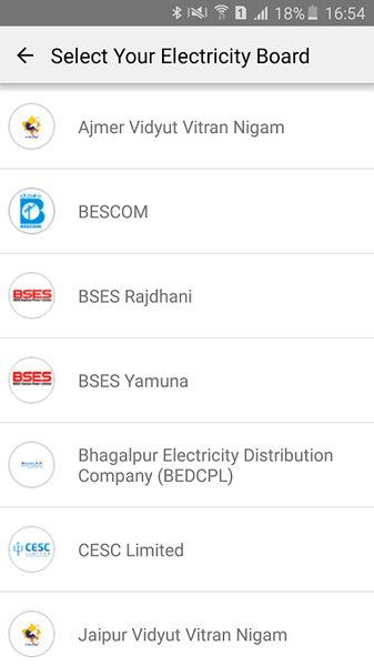 Paytm Electricity payments