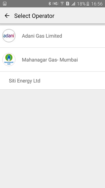 Paytm Gas payments
