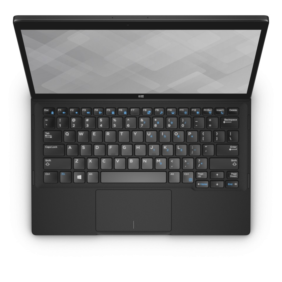 Dell Latitude 12 7000 Series (Model 7275) 2-in-1 notebook computer, shown without keyboard dock.