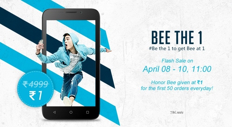 Offers at the Honor India Store : Smart Phones Sale Discount Offer Till 10th April
