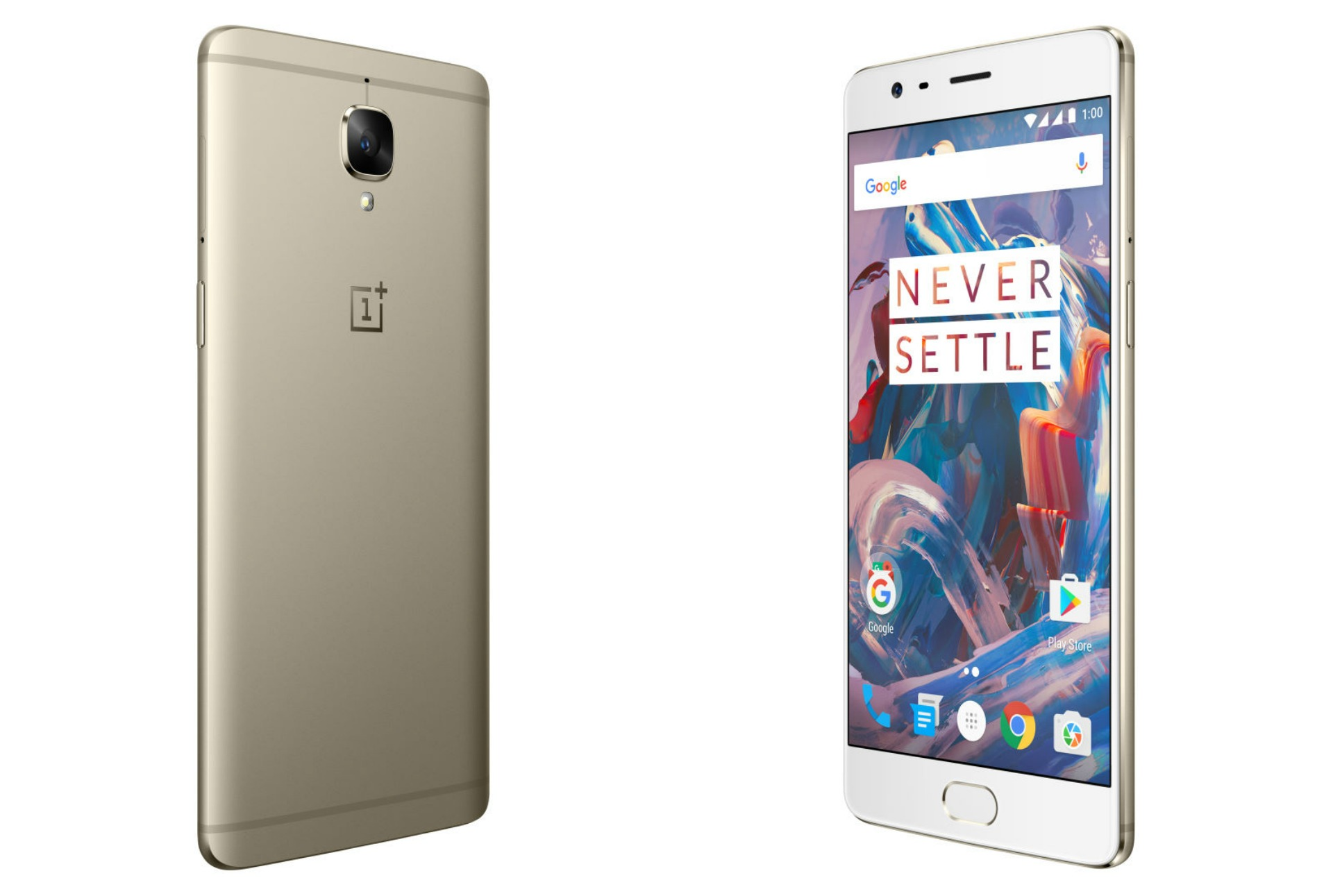 OnePlus 3 Soft Gold Variant Coming to India This Diwali 2016