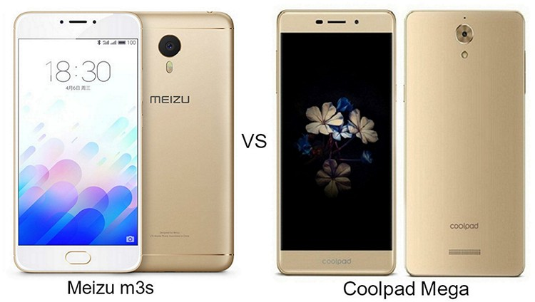 Meizu m3s vs Coolpad Mega