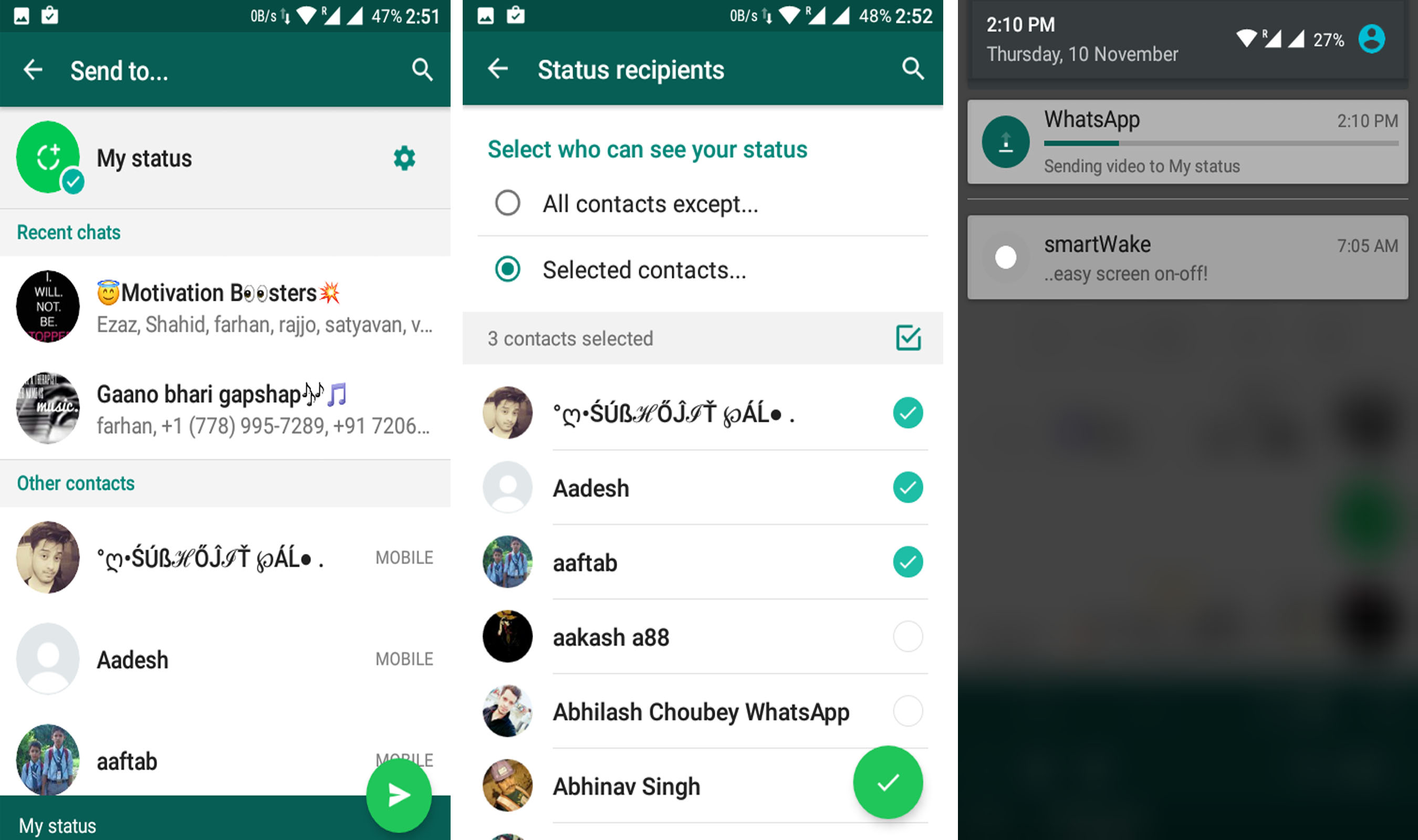 Get New Whatsapp Status Feature On Your Android Phone