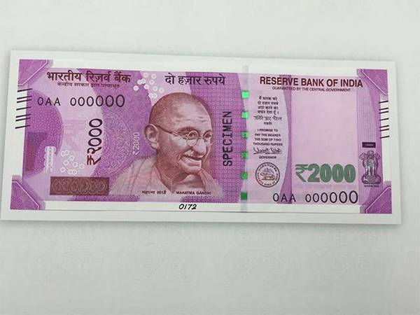 INR 2000 Note