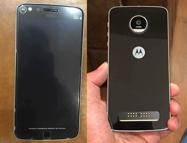 Moto Z Play Design