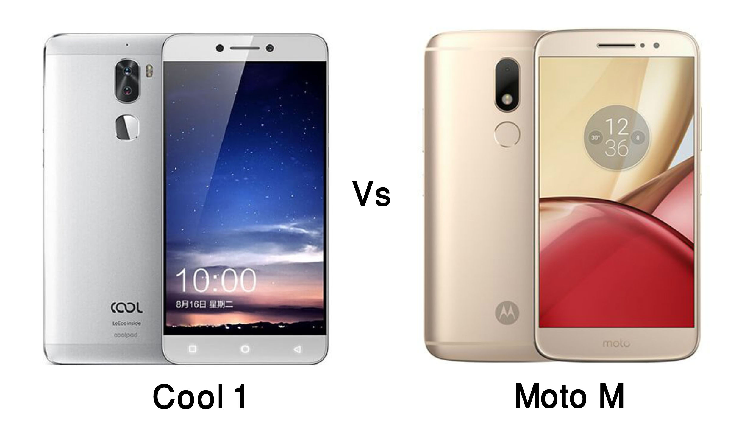 Image result for Coolpad Cool 1 Vs Motorola Moto M Comparison