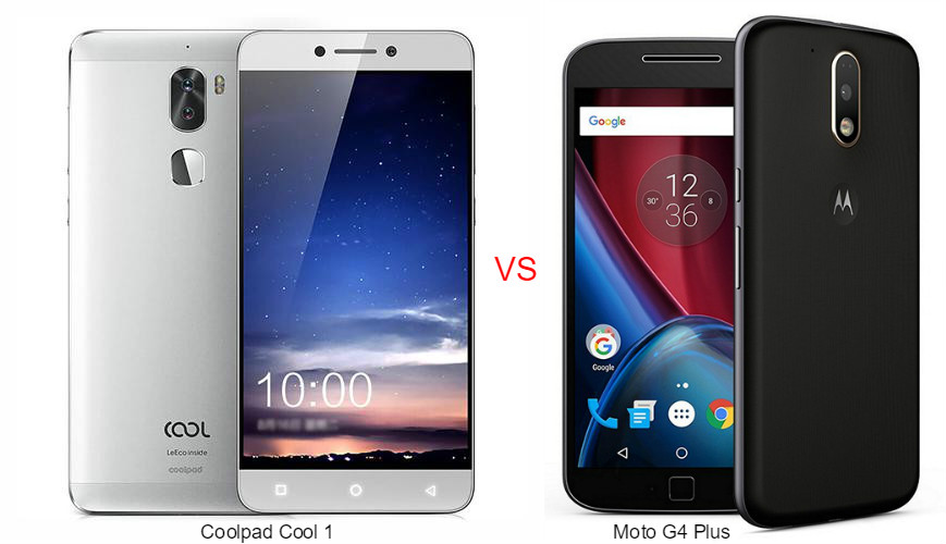 Coolpad Cool 1 vs Moto G4 Plus
