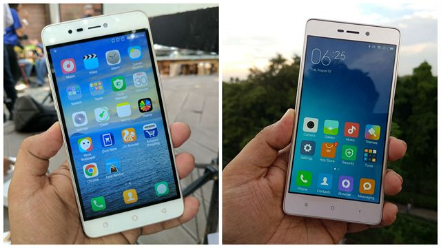 Coolpad Mega 3 vs Xiaomi Redmi 3S