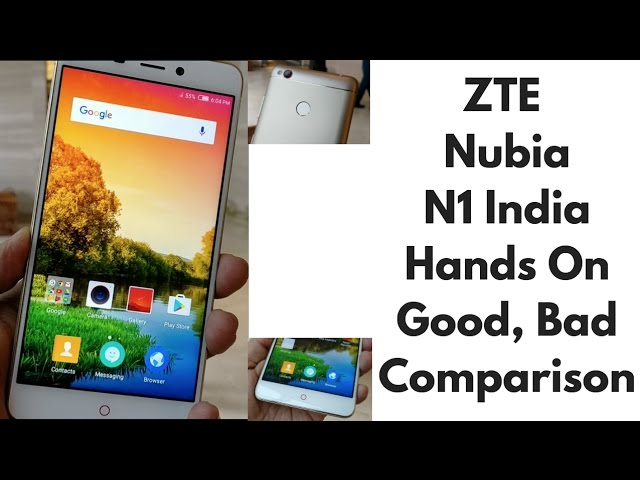 zte nubia n1 unboxing first