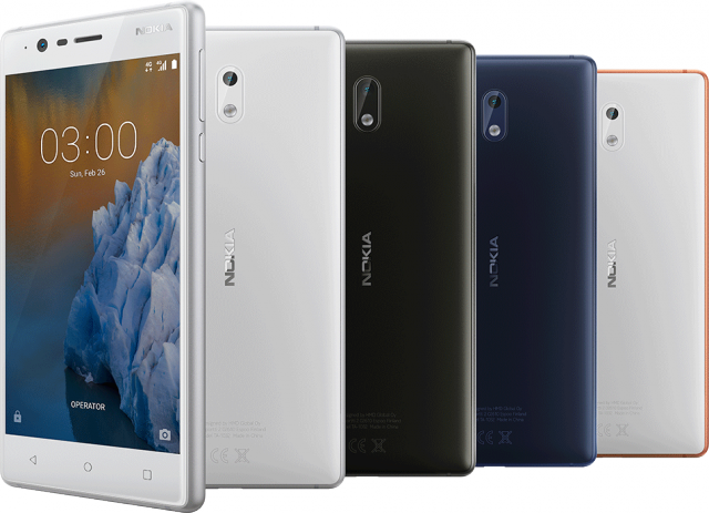 Nokia 3 Launched